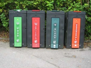 Recycling-bins-at-the-Eden-Project