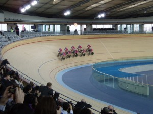Team GB at the Velodrome