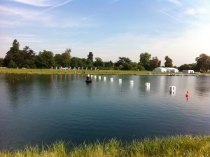 Olympic Venue Eton Dorney on a sunny day
