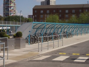 Bicycles on the Olympic Park