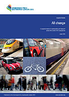 Front cover of the Transport Review